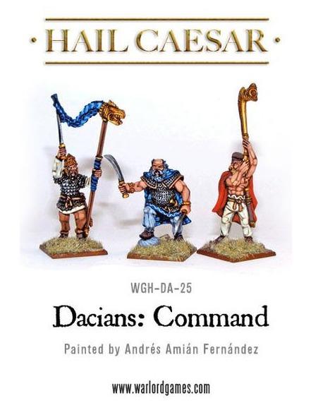 Hail Caesar: Dacian Command (3pc)