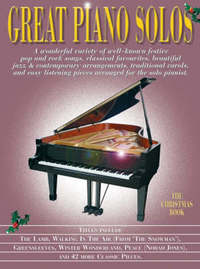 Great Piano Solos - The Christmas Book image