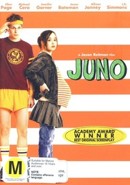 Juno on DVD image