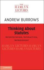 The Hamlyn Lectures by Andrew Burrows
