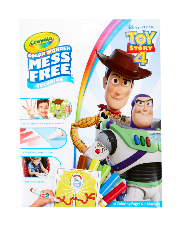 Crayola: Colour Wonder Foldalope - Toy Story 4