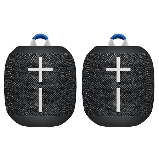 Ultimate Ears WONDERBOOM 2 Speakers - Black Twin Pack