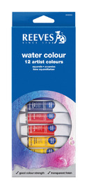 Reeves Water Colour Paints - Set of 12