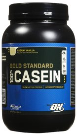 Optimum Nutrition Gold Standard 100% Casein - Creamy Vanilla (907g)