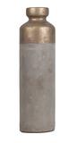 General Eclectic Concrete Vase - Gold