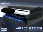 Powerwave Playstation 3 Horizontal Light Stand w/fans for PS3