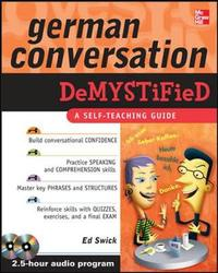German Conversation Demystified with Two Audio CDs by Ed Swick image