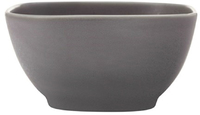 Maxwell & Williams Elemental Square Bowl 12x6cm Charcoal