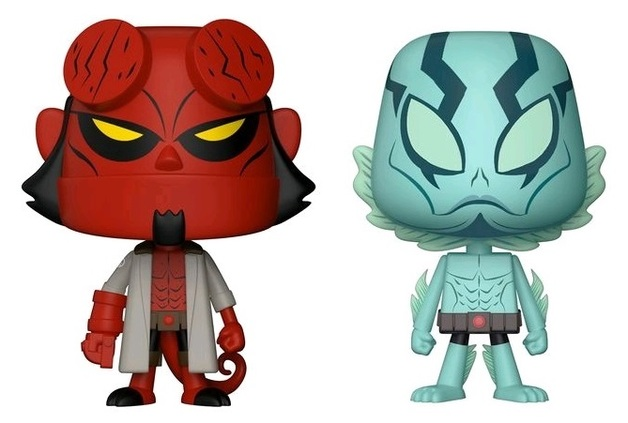 Hellboy + Abe - Vynl. Figure 2-Pack