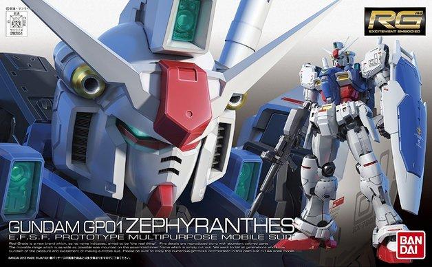 RG 1/144 RX-78 GP01 Zephyranthes - Model Kit