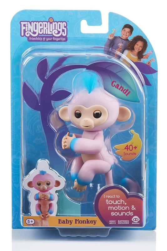 Fingerlings: Interactive Baby Monkey - Candi