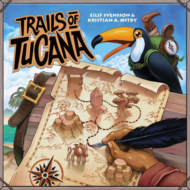 Trails of Tucana - Board Game