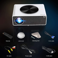 Smart WiFi Native 1080P LED Full HD Android Projector - Blanca White