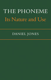 The Phoneme by Daniel Jones