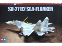 "Tamiya Russian SU-27 B2 ""Sea Flanker"" 1/72 Aircraft Model Kit"