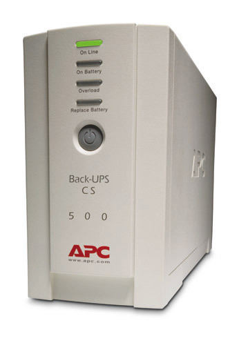 APC Back-UPS CS 500VA Tower USB/Serial