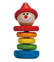 Hape: Clown Rattle