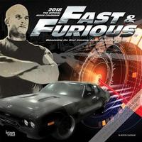 2018 Fast and Furious Wall Calendar by Inc Browntrout Publishers