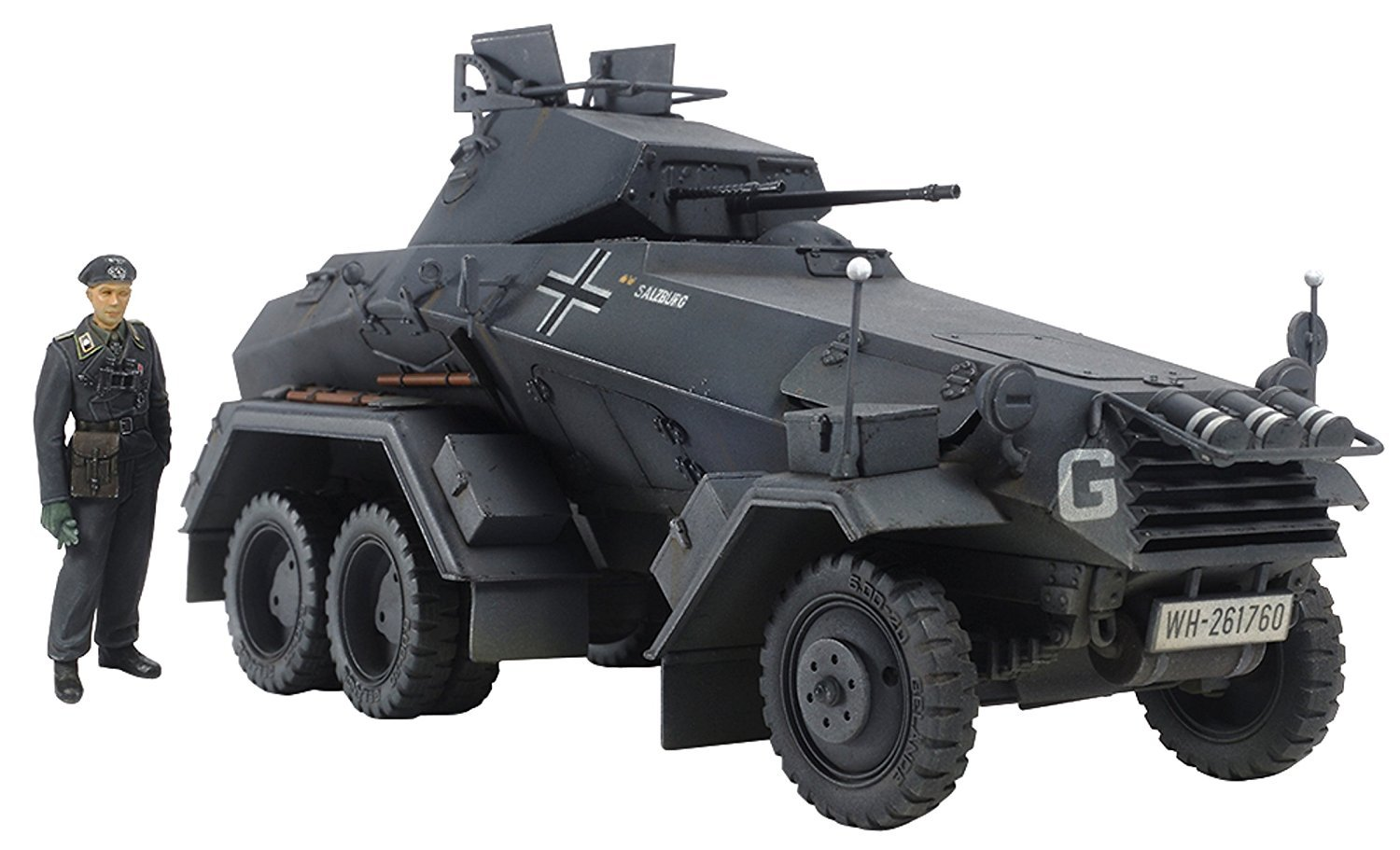 Tamiya 1/35 6-Wheeled SD.KFZ 231 - Model Kit image