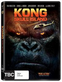 Kong: Skull Island on DVD image