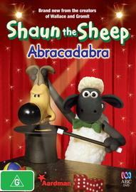 Shaun the Sheep - Abracadabra on DVD image