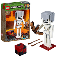 LEGO Minecraft - Skeleton BigFig with Magma Cube (21149)