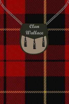 Clan Wallace Tartan Journal/Notebook by Clan Wallace