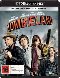 Zombieland (2 Disc Set) on Blu-ray, UHD Blu-ray image