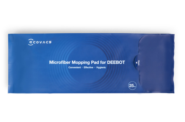 Ecovacs Microfibre Mopping Pads (25 Pack)