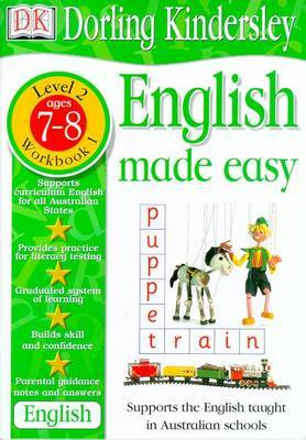 English Made Easy Level 2 (Age 7-8): Workbook 1 by Dorling Kindersley
