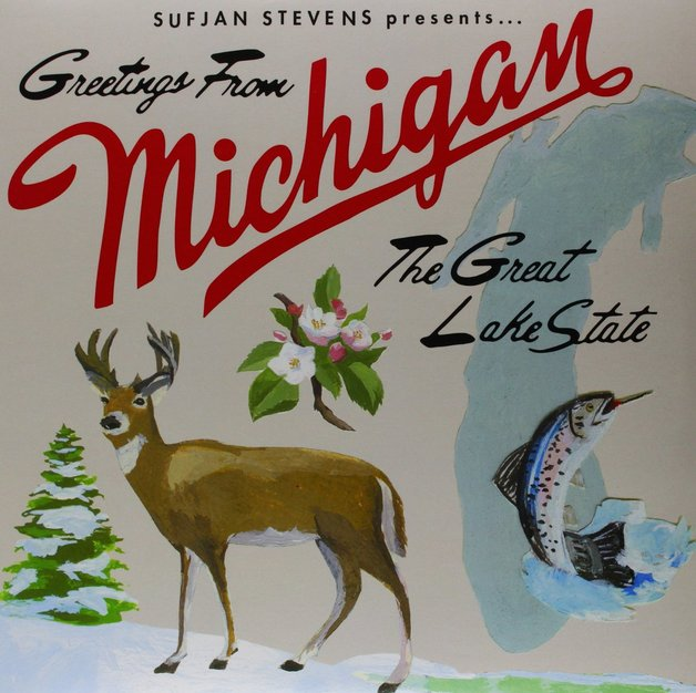 Greetings from michigan the great lake state 2lp sufjan stevens greetings from michigan the great lake state 2lp by sufjan stevens m4hsunfo