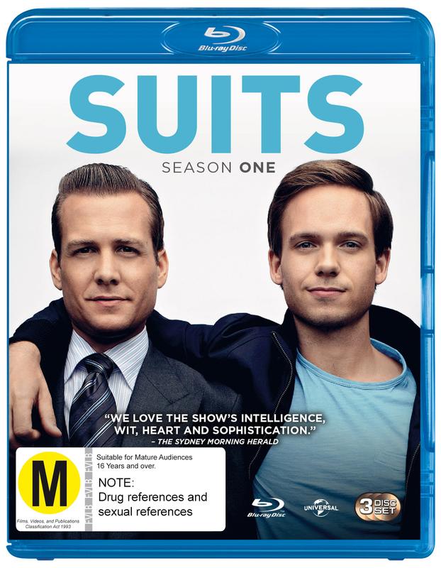 Suits - Season One on Blu-ray