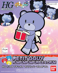 1/144 HGPG: Petit'gguy (Purple & Drum) - Model Kit