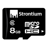 8GB Strontium Micro SD Basic Series with SD Adaptor