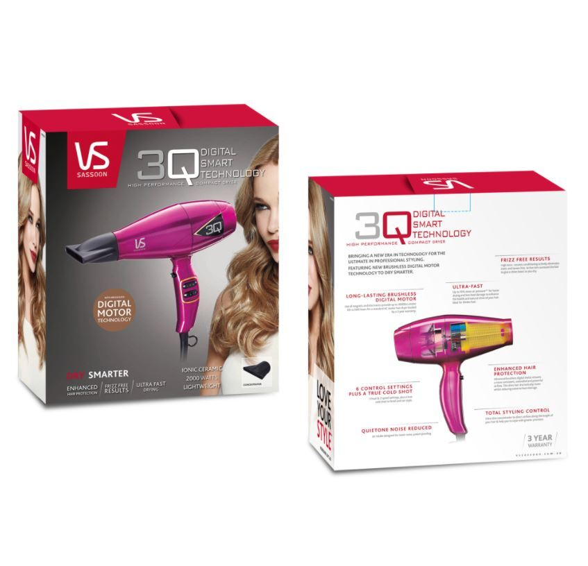 VS Sassoon 3Q Compact Hair Dryer image