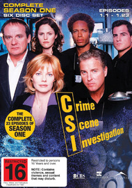 CSI - Las Vegas: Complete Season 1 (6 Disc Set) on DVD image