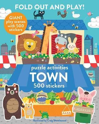 Fold Out and Play Town image