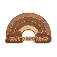 Cardtorial: Birthday Rainbow Greeting Card