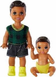 Barbie: Skipper Babysitters - Siblings Set (Bruntette Boys)