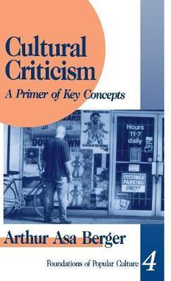 Cultural Criticism by Arthur Asa Berger