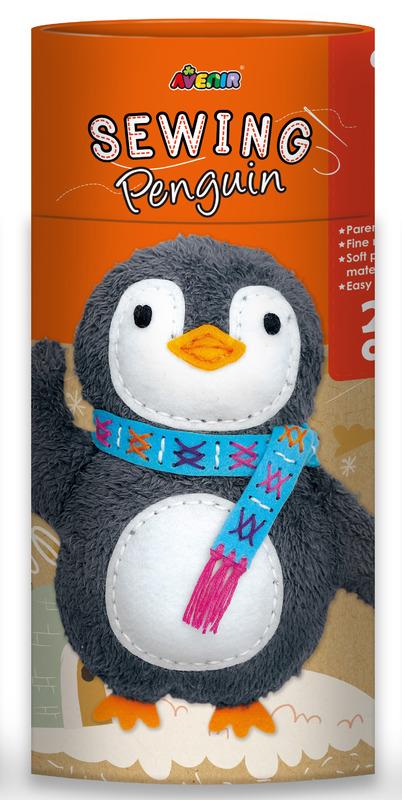 Avenir: Sewing Doll Kit - Penguin
