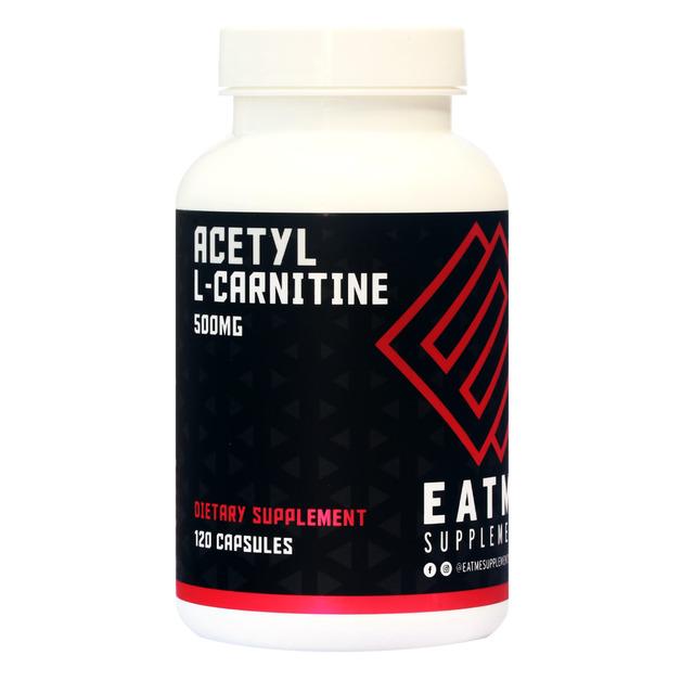 Eat Me Acetyl L-Carnitine 500mg Fat Burner (120 Caps)