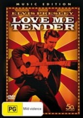Love Me Tender - Music Edition on DVD