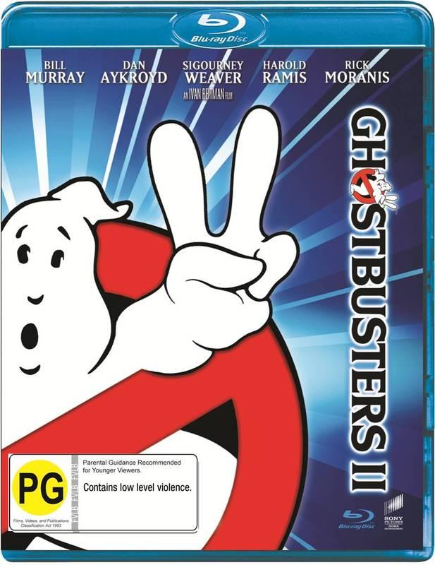 Ghostbusters II on Blu-ray