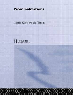 Nominalizations by Maria Koptjevskaja-Tamm image