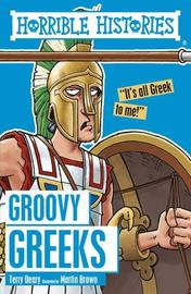Groovy Greeks by Terry Deary image