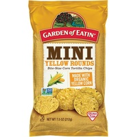 Garden Of Eatin Corn Chips (Mini Yellow Rounds, 212g)