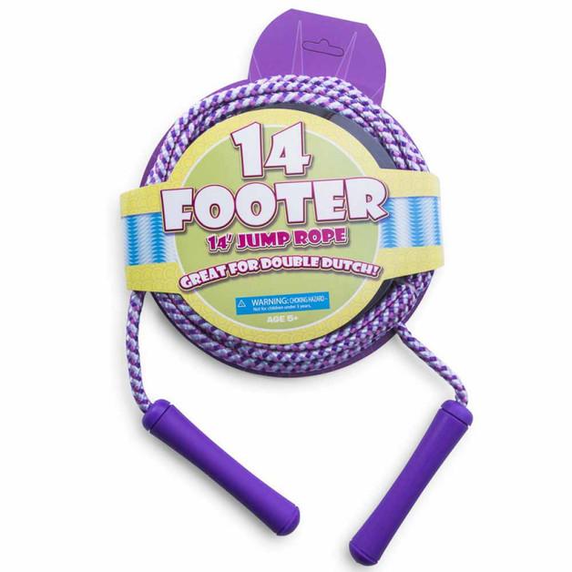 Hot Ropes: 14 Footer Jump Rope