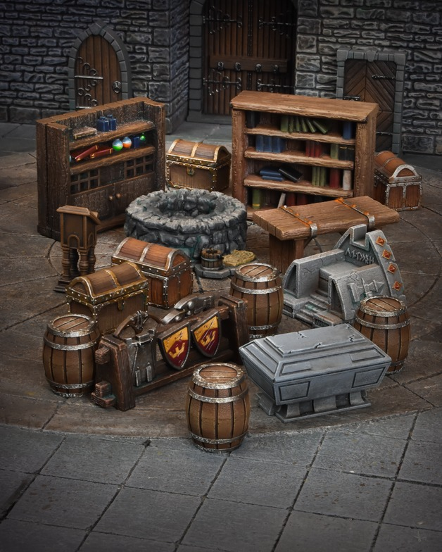 TerrainCrate: Dungeon Essentials