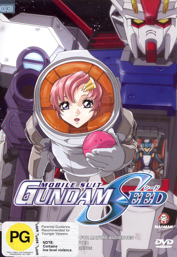 Gundam Seed - Vol 03 No Retreat on DVD image